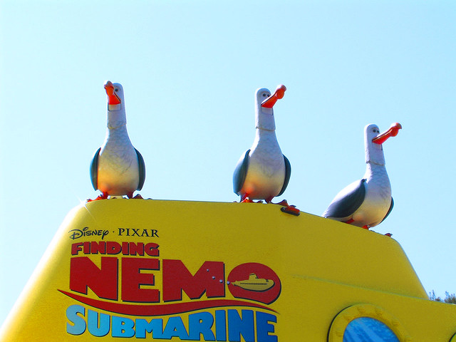 "Disney Finding Nemo ""Mine Birds"" | Flickr - Photo Sharing!"