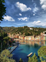 Portofino  ( white clouds )