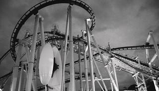 Spooky Roller Coaster