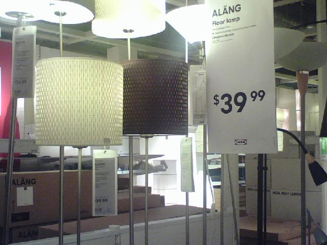 Ikea Patrull Klämma Barngrind ~ Ikea Alang floor lamp  Love these lampshades on the new Ala