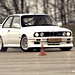 Drifting BMW M3 E30
