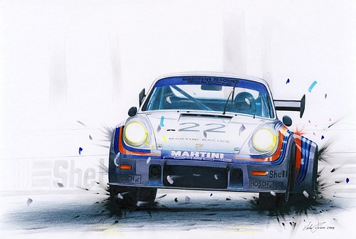 Porsche 911 RSR turbo by businaromartin