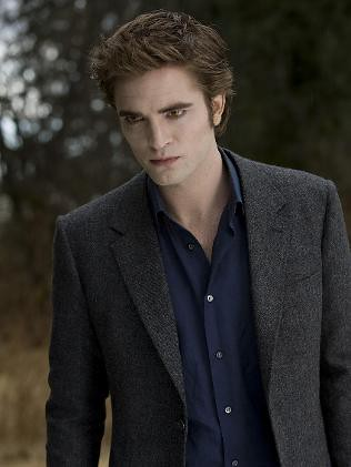 Edward Cullen played by Robert Pattinson in Twilight