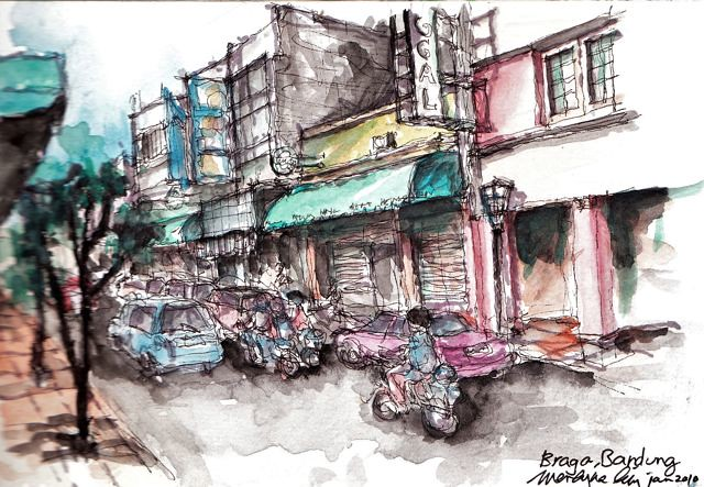 Braga Street Bandung Indonesia 2010 Flickr Photo