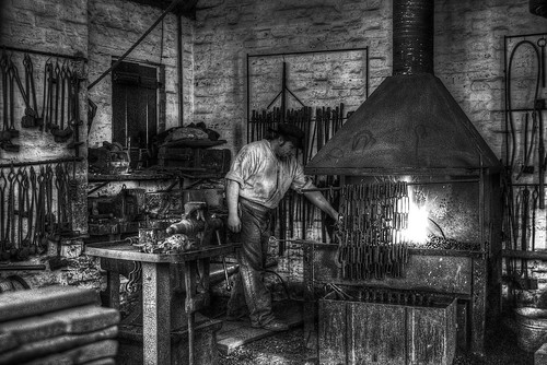 Blists Hill - The blacksmith