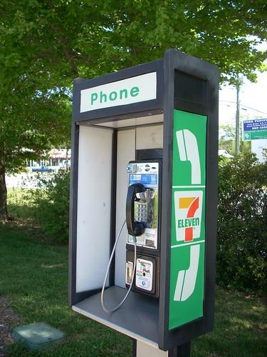 7-Eleven payphone