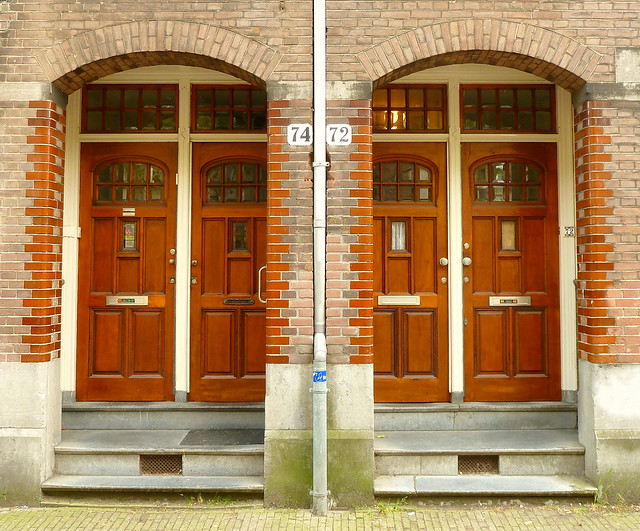 Tolstraat 72 74 amsterdam year of construction 1907 for Door 74 amsterdam