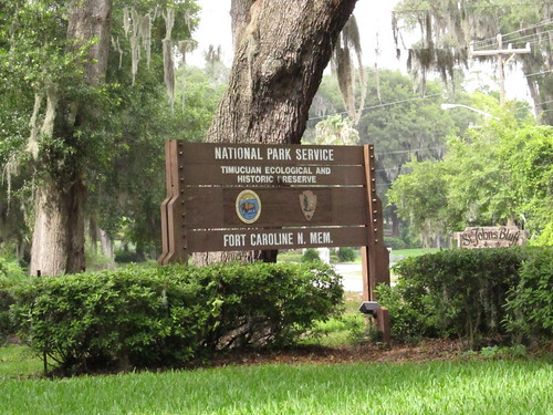 Welcome to Timucuan Ecological and Historic Preserve and Fort Caroline National Memorial, Jacksonville, Florida