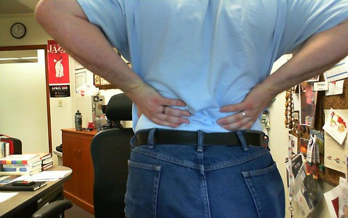 168/365 Back pain