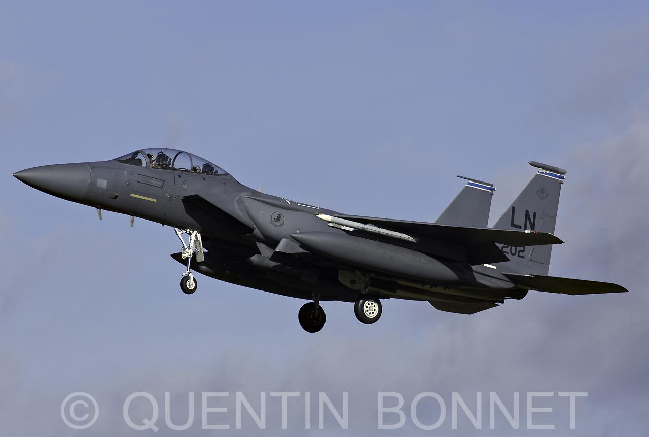 USAF McDonnell Douglas F-15C Eagle LN 96-202