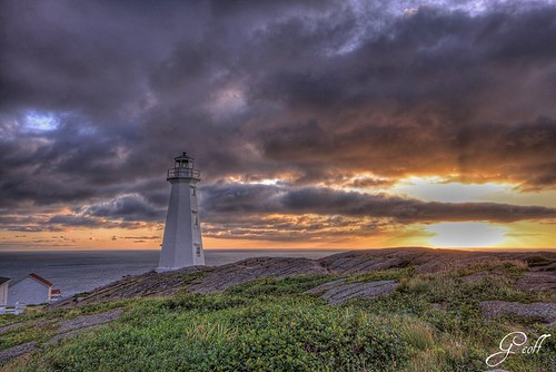morning travel lighthouse canada tourism sunrise newfoundland hdr capespear cans2s hdraward wbnawcnnl