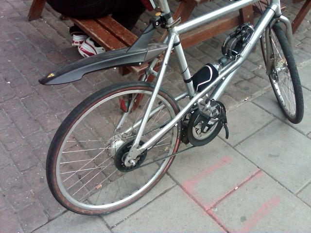 belt drive mercedes bicycle flickr photo sharing. Black Bedroom Furniture Sets. Home Design Ideas