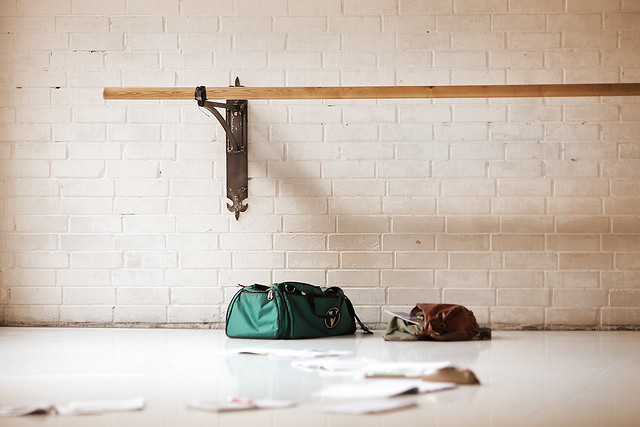 Ballet Studio Break During A Ballet Class Dock 11