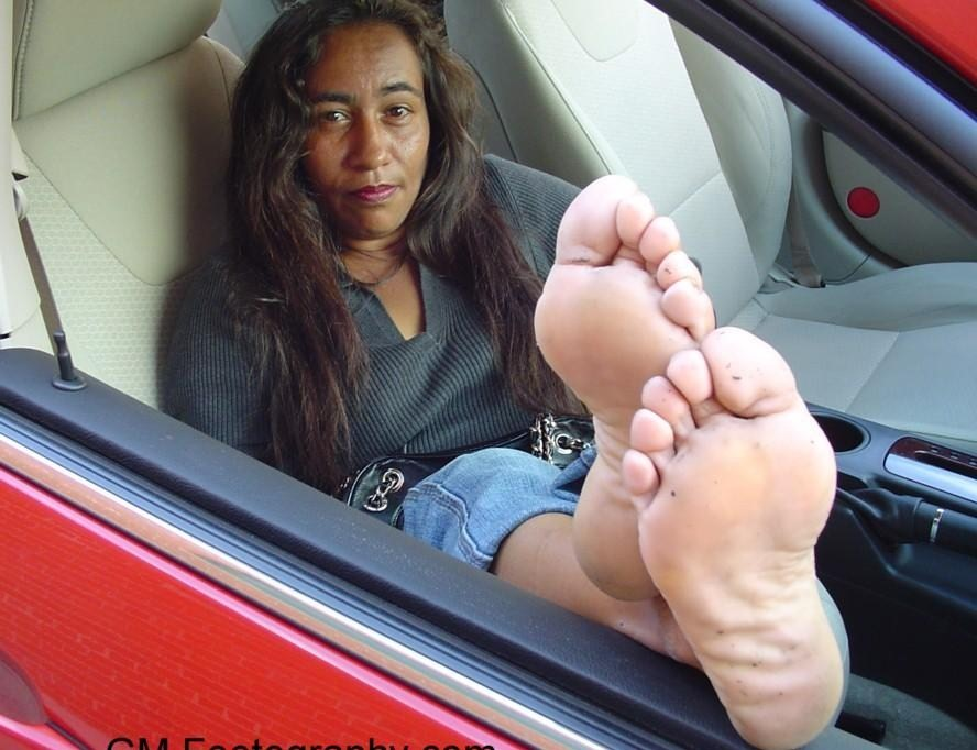 Black women foot fetish