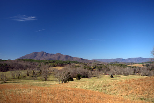 autumn trees sky mountains landscape scenic northcarolina fields
