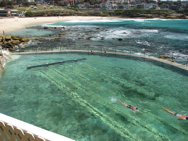 Saltwater Swimming Pool Near Bondi Beach Flickr Photo Sharing