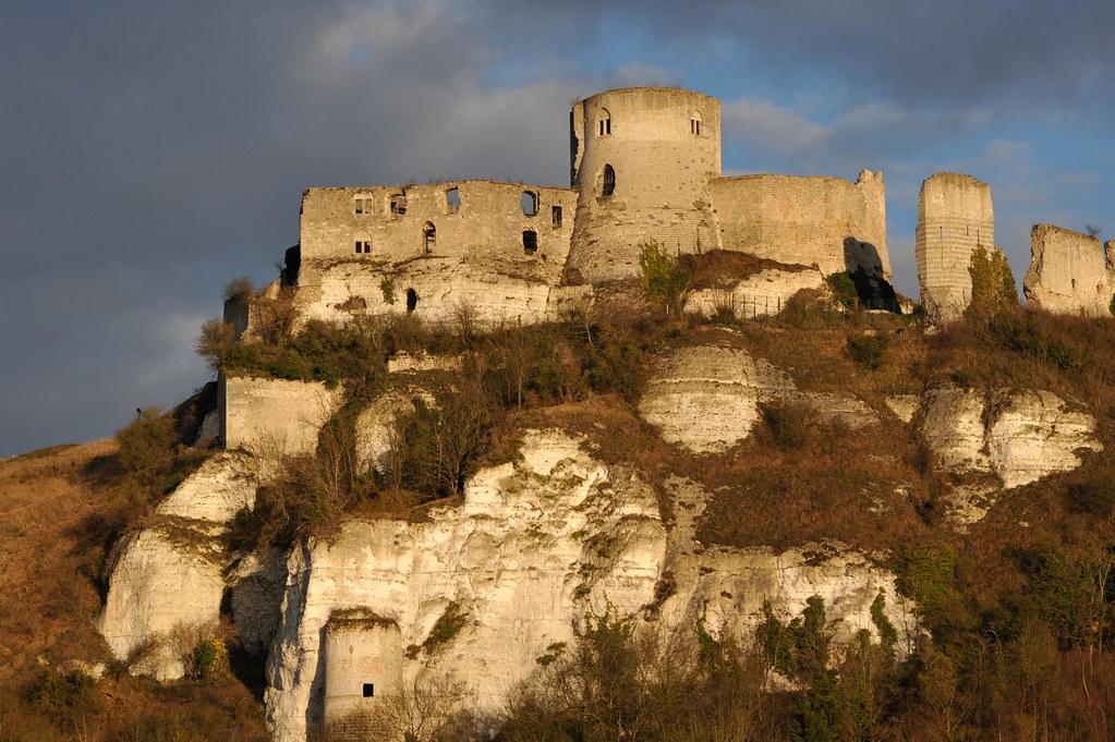 Château-Gaillard (Les Andelys, Eure, Haute-Normandie)