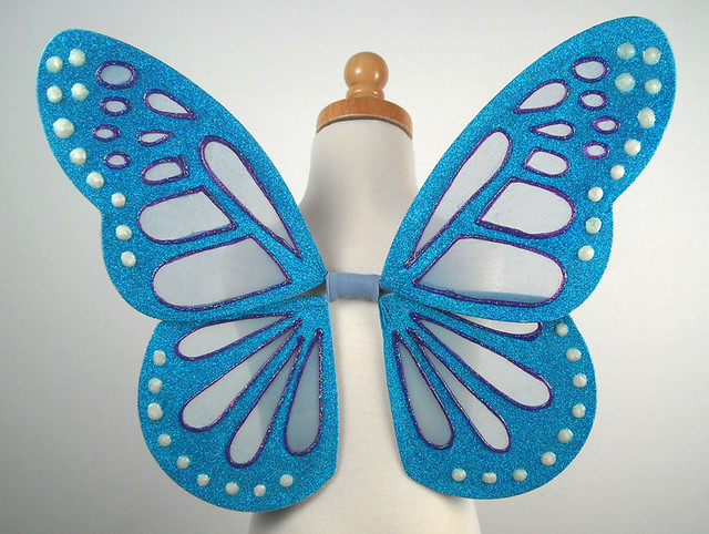 Deirdre fairy wings! My newest design for children.