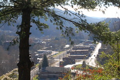Rrenew Collective posted a photo:	Henry Street over looking downtown Appalchia, Va