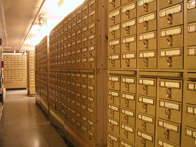 The card catalog is no longer the necessary first stop in a visit to the library
