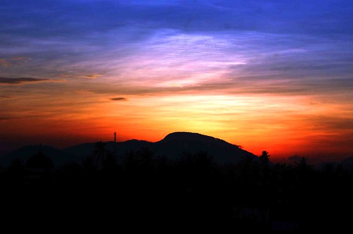 sunset sumatra banda change aceh climate warming global matahari maghrib