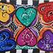 ACEO heart rug