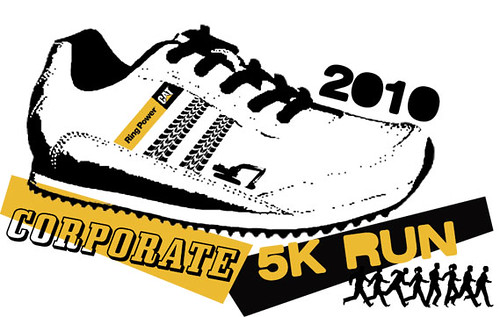 2010 Corporate 5k Run T-Shirt Graphic for Ring Power