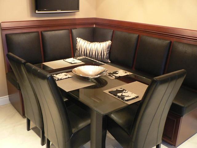 Kitchen Nook Custom Panels amp Seating Flickr Photo