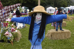 festival(0.0), middle ages(0.0), agriculture(1.0), flower(1.0), scarecrow(1.0), costume(1.0),