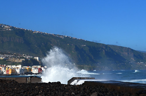 Waves on the north coast, Tenerife