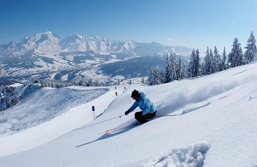 Weekend skiing in Megeve