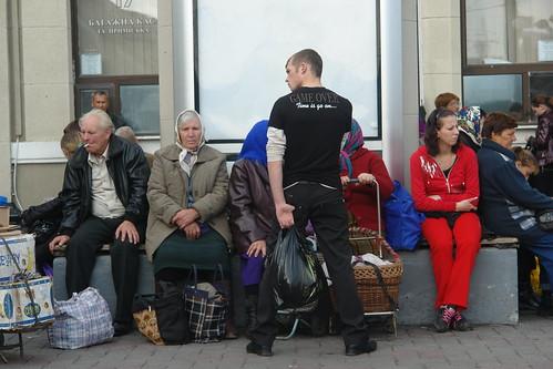 At Odessa Station
