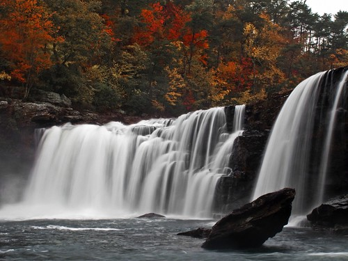 autumn color fall nature water waterfall alabama foliage lrc dekalbcounty littleriverfalls napg tonybarber