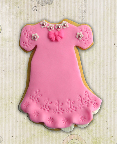 Baby Dress cookie