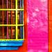 La ventana de cinco colores
