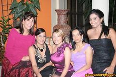 Cena después del concierto de Navidad en casa de José Rafael Vargas