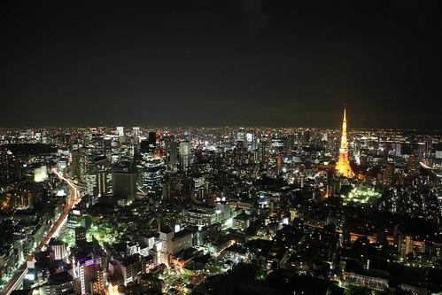 Tokyo by Night by Luca Kun