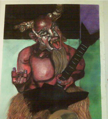 Tenacious D and the Pick of Destiny Devil Drawing | 9 ft ...