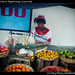 Street vendor in Aguatenango, Guatemala