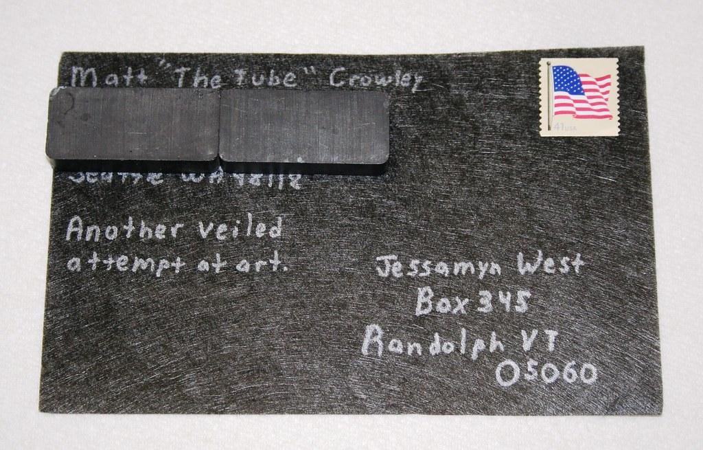 Carbon Fiber Postcard