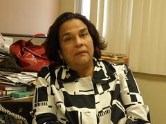 María Magela Directora Administrativa de la Fundación Pro Biblioteca Nacional de Panamá