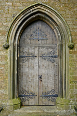 Door at Christ Church, Lothersdale
