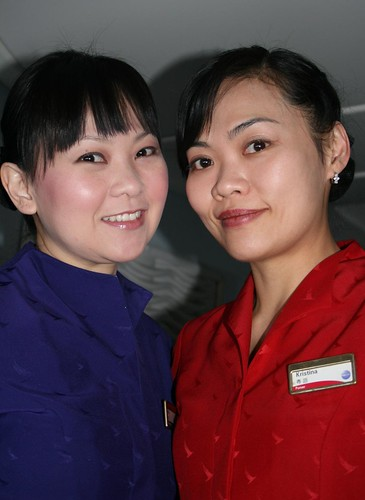 Cabin Attendents, Cathay Pacific Airlines