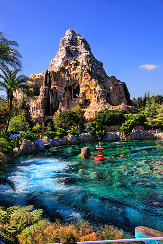 Matterhorn over lagoon