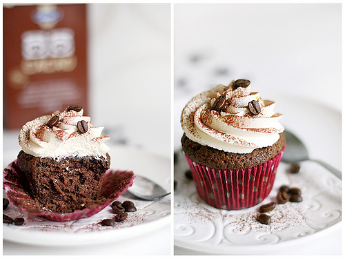 Mocha cupcake with mascarpone frosting | Flickr - Photo Sharing!