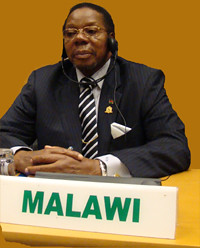 Malawian President Bingu wa Mutharika  has died. He is seen here in his former capacity as Chairman of the African Union, 54-member state regional organization for the continent. Malawi was attacked because it hosted the president of Sudan. by Pan-African News Wire File Photos