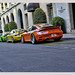 HDR red Ruf RT 12S Rouge, yellow Porsche 996 GT2 and green Ruf RT 12S by _PEC_