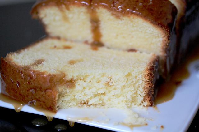 Salted Caramel Pound Cake - 33