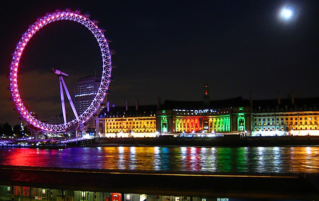 London Night Light