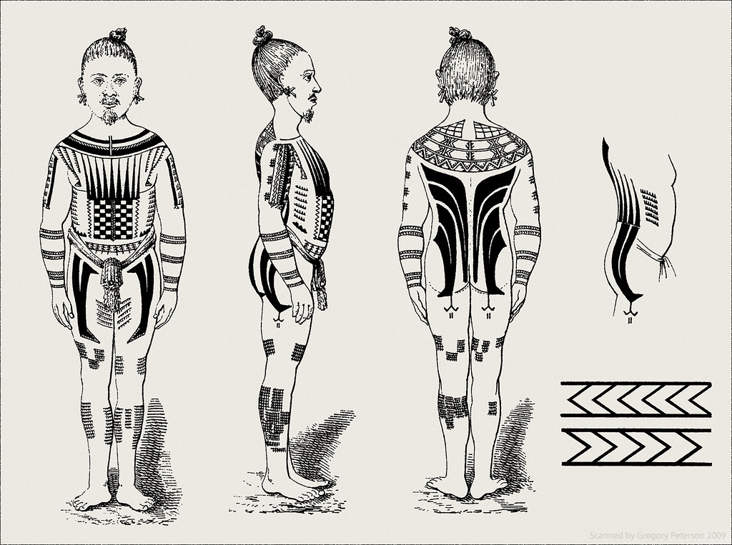 caroline islander tattoos a photo on flickriver. Black Bedroom Furniture Sets. Home Design Ideas